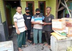 PC LDII Bumiwonorejo Bantu Warga Musibah Kebakaran